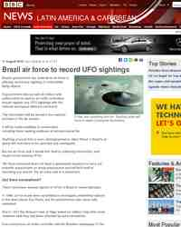 Brazil to record UFO sightings: BBC News